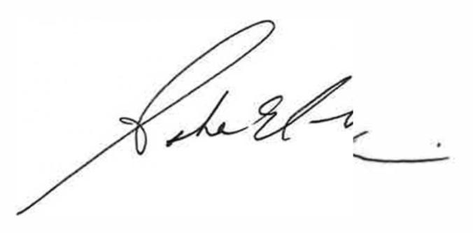Aisha El Amin signature