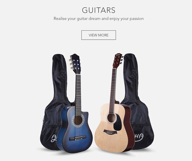 Realise your guitar dream and enjoy your passion
