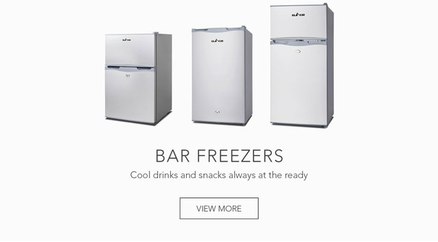 Cool drinks and snacks always at the ready