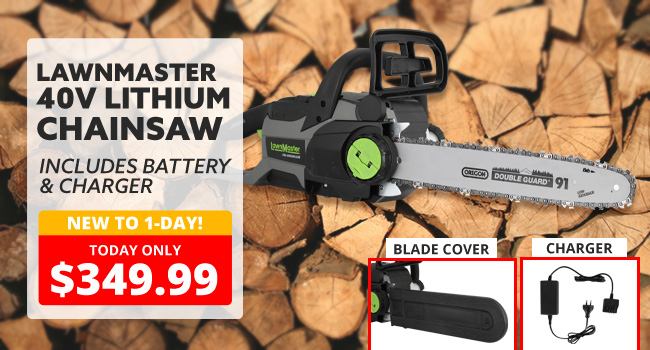 LawnMaster Chainsaw