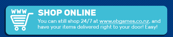 You can still shop 24/7 online, and have your items delivered right to your door!