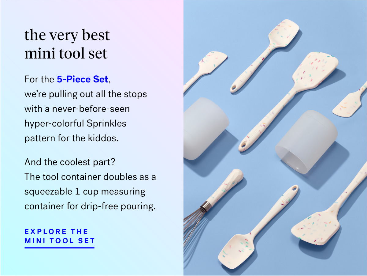 And for the 5-Piece Set? We're pulling out all the stops with a 