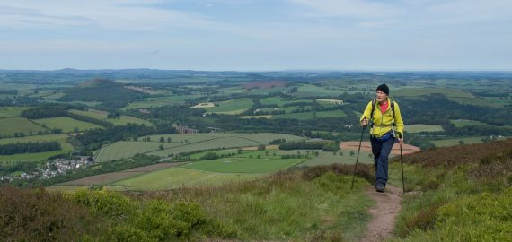 Scottish Borders - attracting walkers for over 3000 years