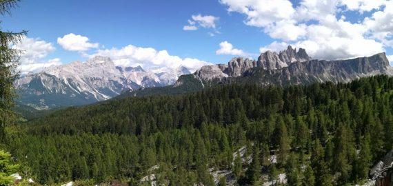 Back in the Italian Dolomites on the Alta Via 1