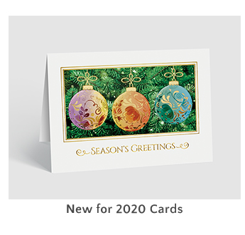 New for 2020 Cards