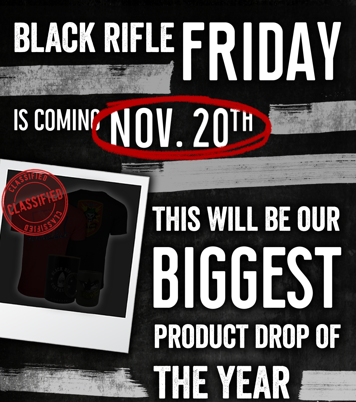 Black Rifle Friday is Coming Nov. 20th