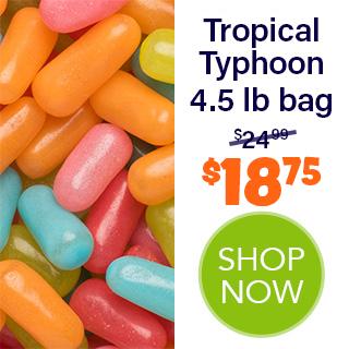 MIKE AND IKE bulk - Tropical Typhoon 4.5 lb bag - $18.75 - SHOP NOW