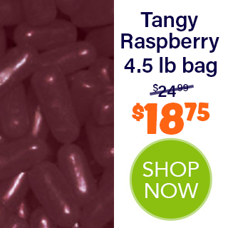 MIKE AND IKE bulk - Tangy Raspberry 4.5 lb bag - $18.75 - SHOP NOW
