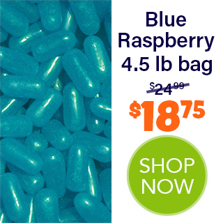 MIKE AND IKE bulk - Blue Raspberry 4.5 lb bag - $18.75 - SHOP NOW