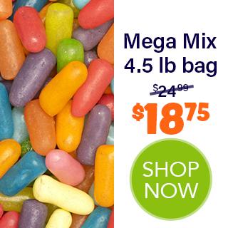 MIKE AND IKE bulk - Mega Mix 4.5 lb bag - $18.75 - SHOP NOW