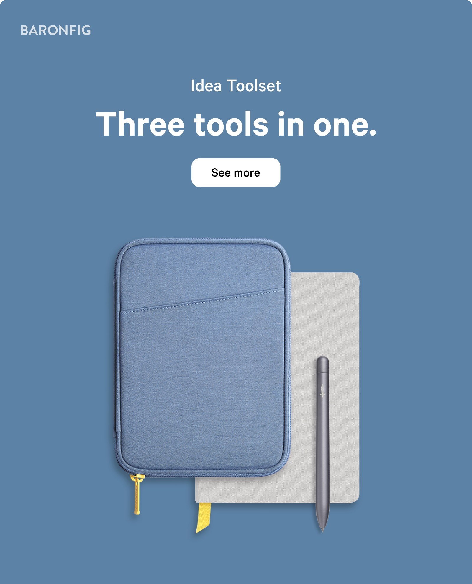 Idea Toolset. Three tools in one. See more ?