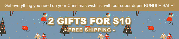 Items Starting from $9.99 with Free Shipping