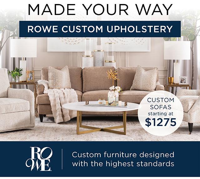 Made Your Way! - Custom Sofas!