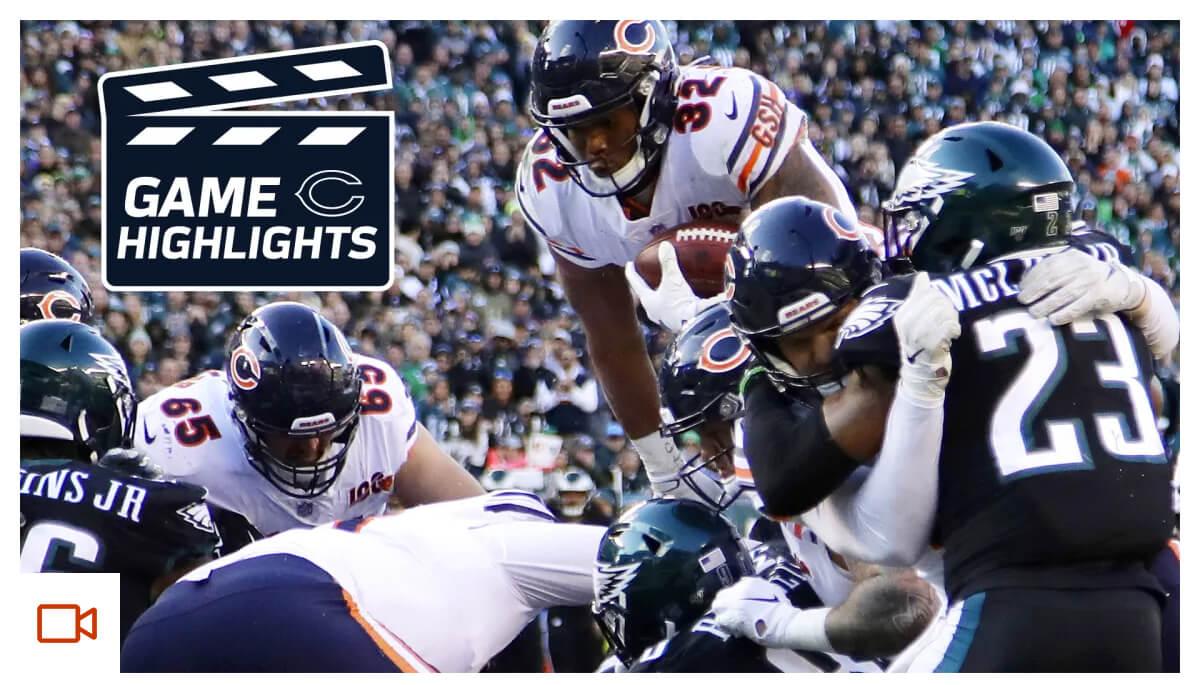 Highlights: Bears at Eagles