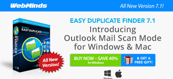 Easy Duplicate Finder 7.1: Introducing Outlook Mail Scan Mode for Windows and Mac