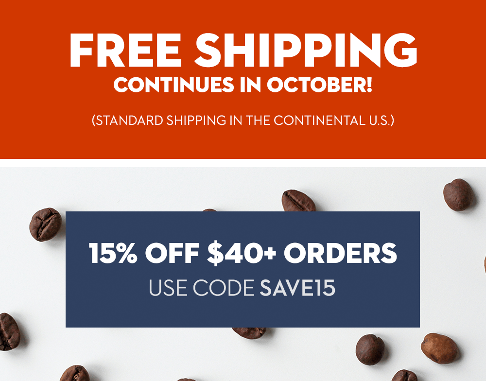 Free standard shipping extended