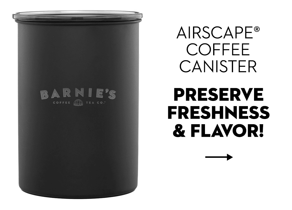Coffee canister for freshness