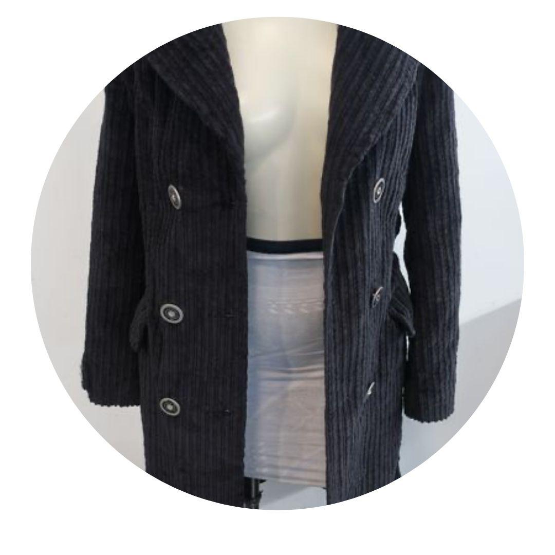 Dolce & Gabbana Black Coat W Tags