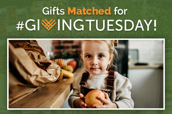Gifts Matched for #GIVINGTUESDAY!