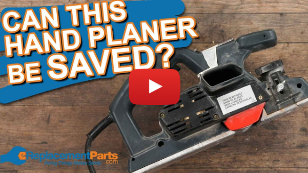 Can It Be Saved? We Try To Restore an Old Hand Planer! | eReplacementParts.com