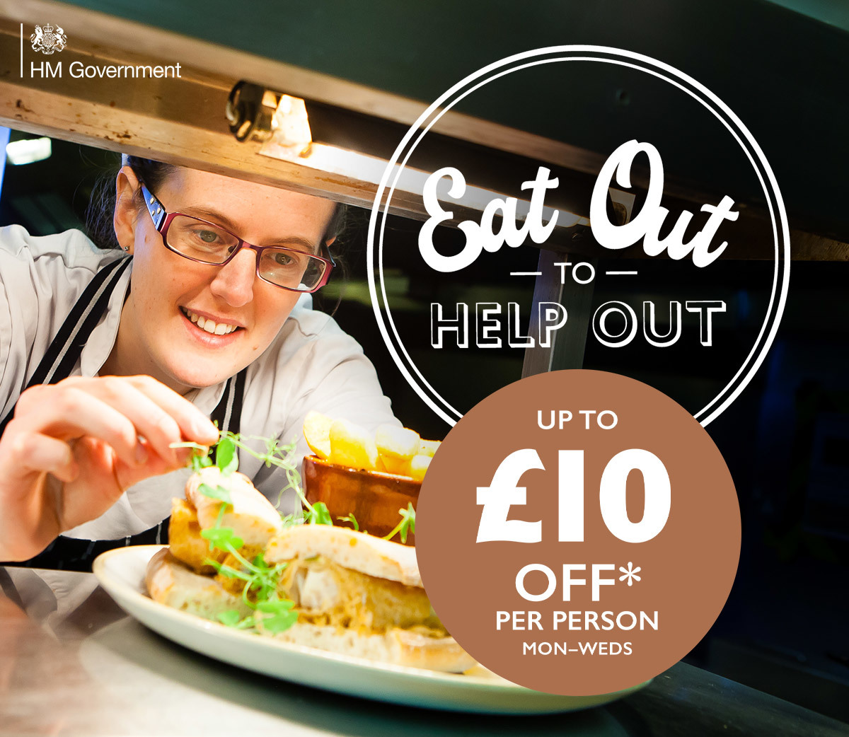 Enjoy up to ?10 off per person on food and soft drinks, Mon-Wed, until 31 August.