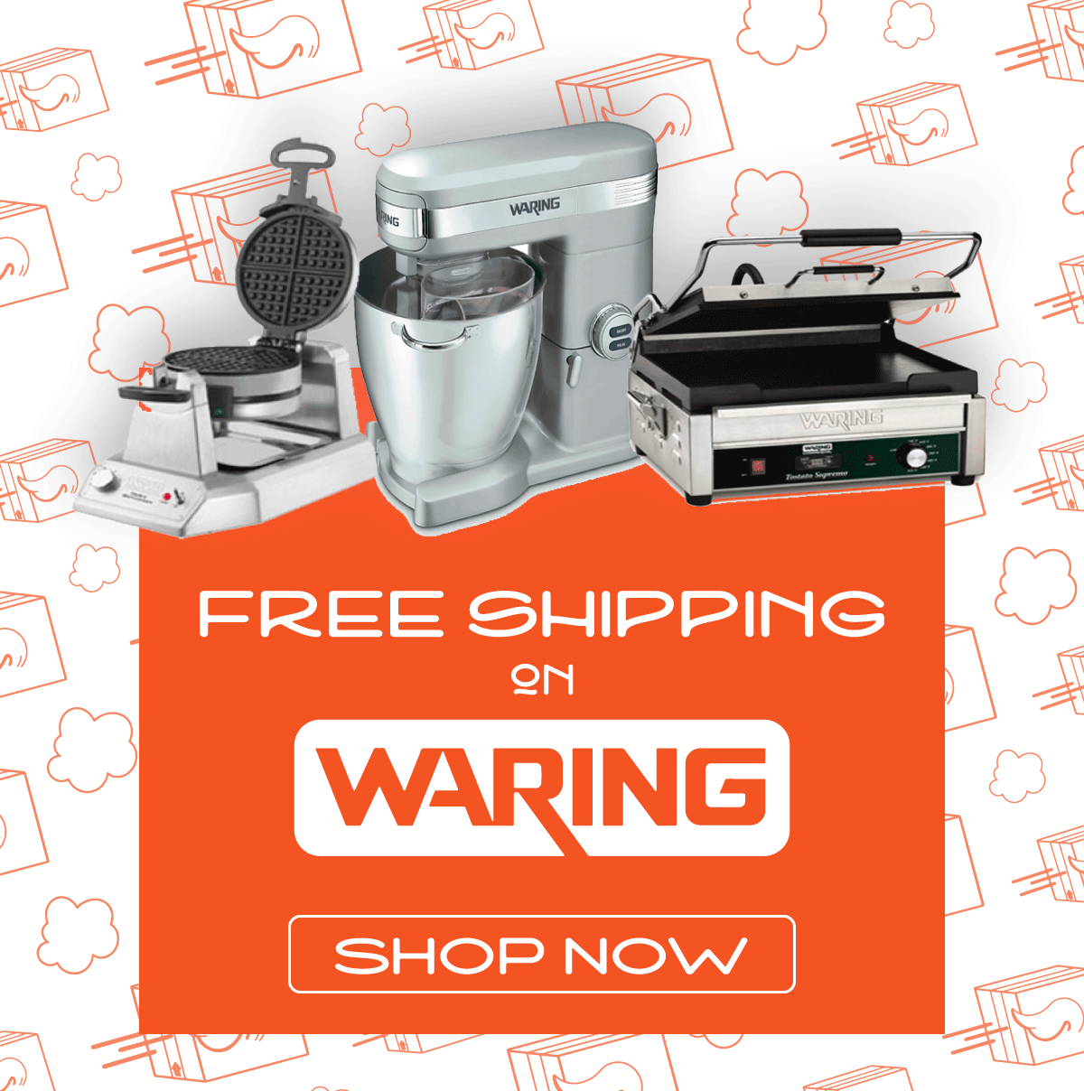 Free shipping on Waring Products