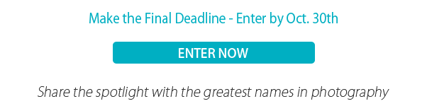 Make the Final Deadline - Enter by Oct. 30th