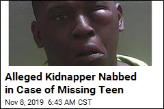 Alleged Kidnapper Nabbed in Case of Missing Teen