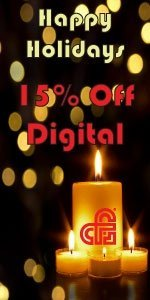 Holiday Sale - Save 15% Off Digital Products