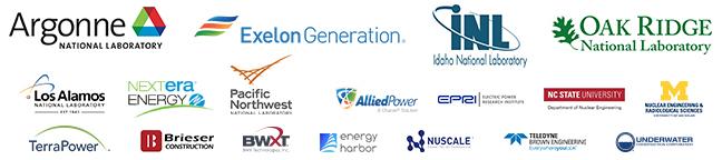 Organizational Participant logos