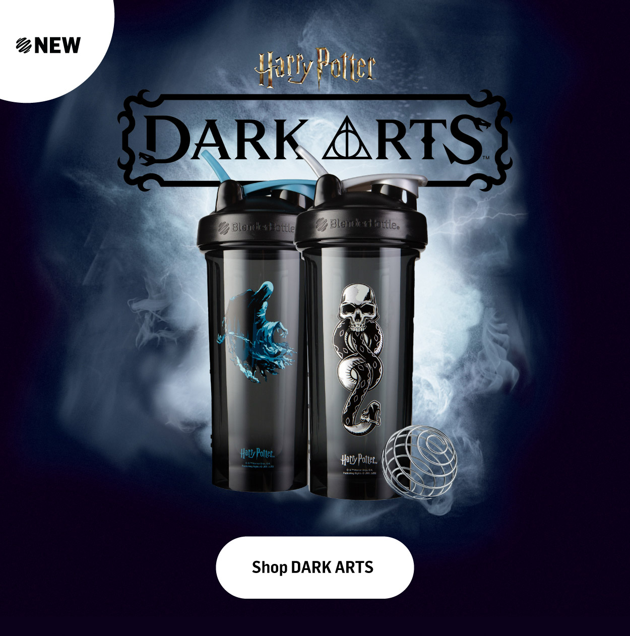 Harry Potter Dark Arts Shakers Available Now