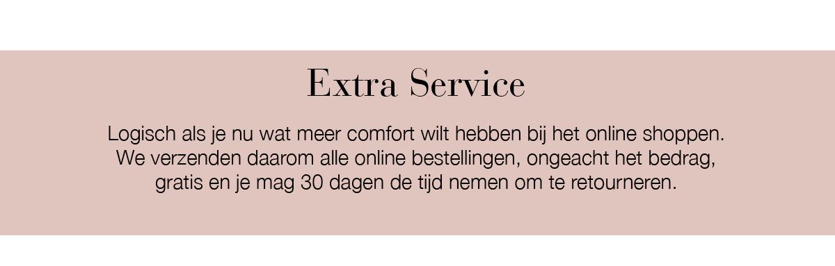 Extra service - corona virus