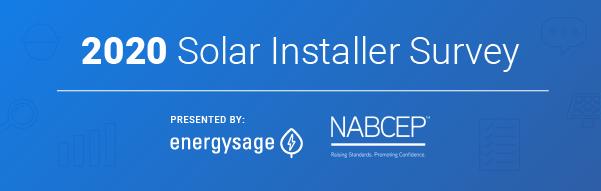 EnergySage 2020 Installer Survey