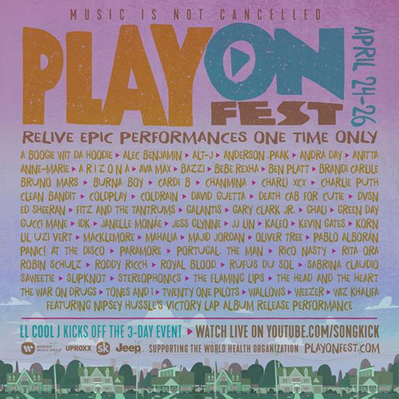 PlayOn Fest Admat