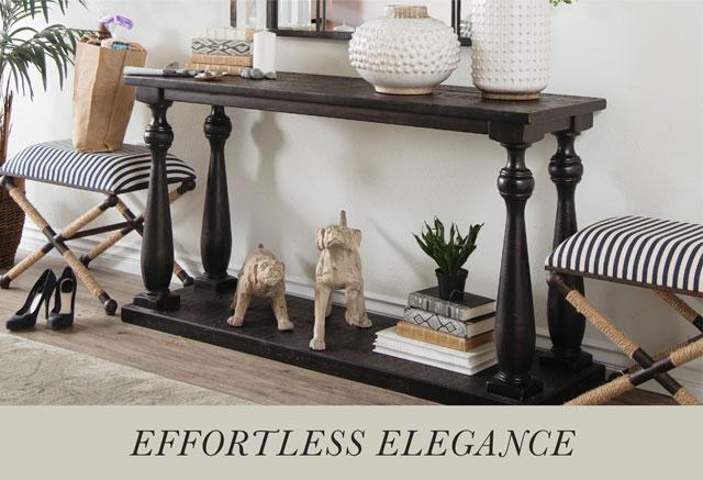 Effortless Elegance - Sofa Table
