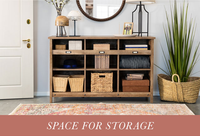 Space for Storage