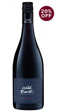 Wild Earth Pinot Noir - 20% Off
