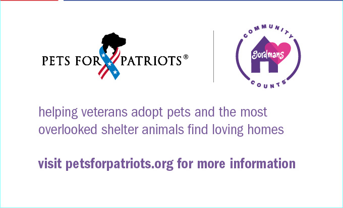 Visit petsforpatriots.org for more information