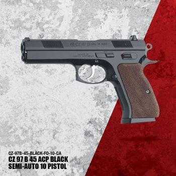 CZ97 B 45ACP Black CA- 01401