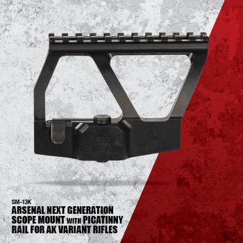 SM-13K Next Generation Scope Mount with Picatinny rail for AKSU variants