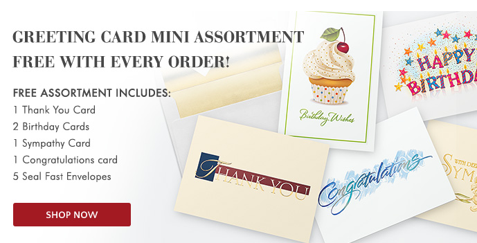 Free Mini Assortment with your order - Shop Holiday Cards