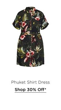 Phuket Shirt Dress
