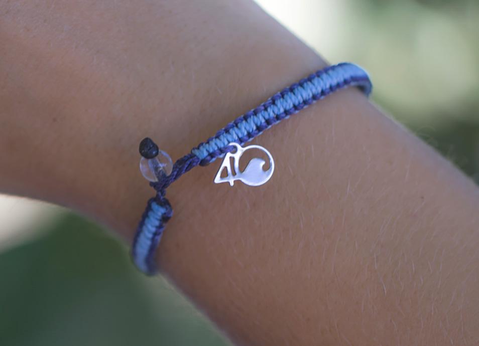 Whale Braided Bracelet