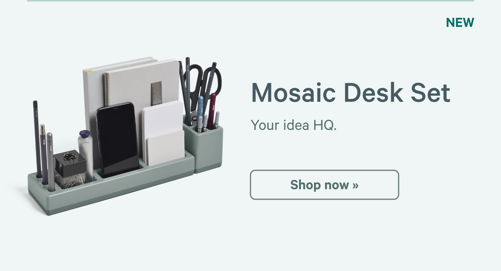 Mosaic Desk Set. Your idea HQ. Shop now ?