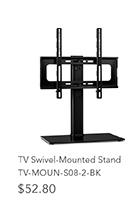 TV Swivel-Mounted Stand