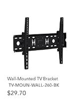 Wall-Mounted TV Bracket