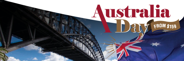 Australia Day from $159