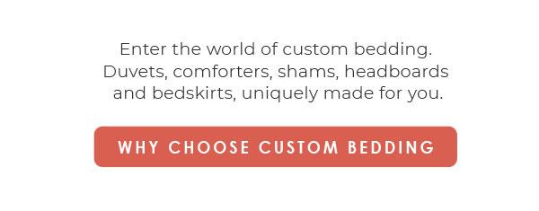 Calico Custom Bedding
