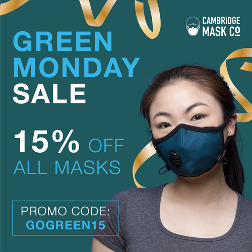 Green Monday Sale - 15% OFF ALL MASK