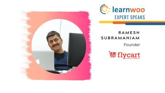 Ramesh Subramanian Founder of Flycart